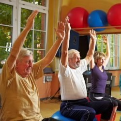 Active Adults Exercise Classes - Chair yoga for seniors